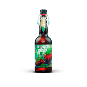 Cerveja Roleta Russa India pale ale 500 ml